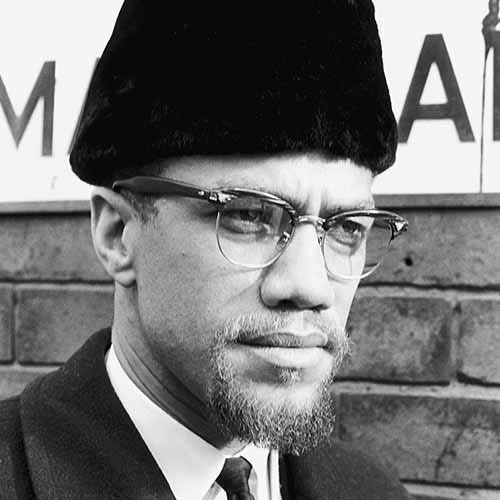 History answer: MALCOLM X