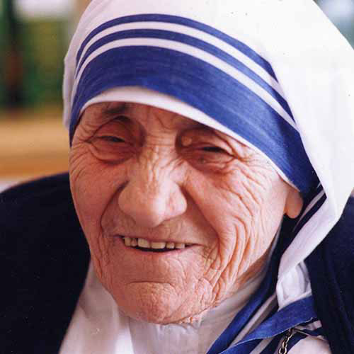 History answer: MOTHER TERESA