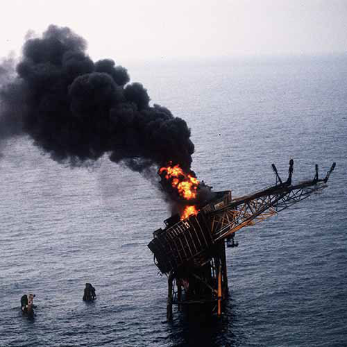 History answer: PIPER ALPHA