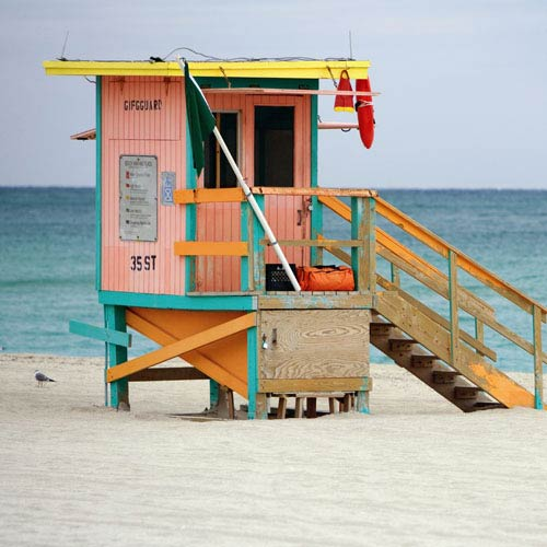 Holidays answer: LIFEGUARD HUT