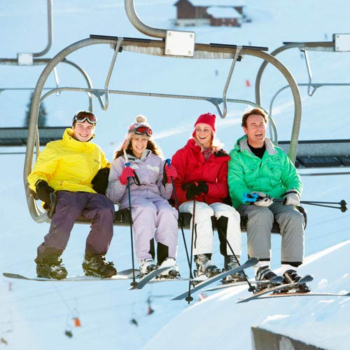 Holidays answer: CHAIR LIFT