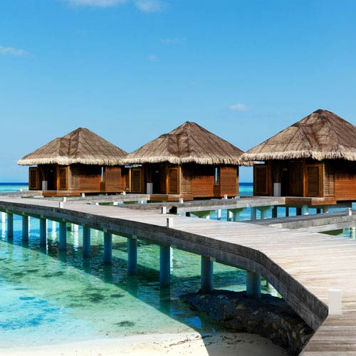 Holidays answer: WATER VILLAS