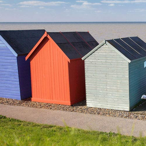 Holidays answer: BEACH HUTS