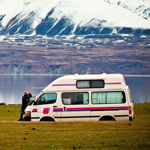 Holidays answer: CAMPERVAN