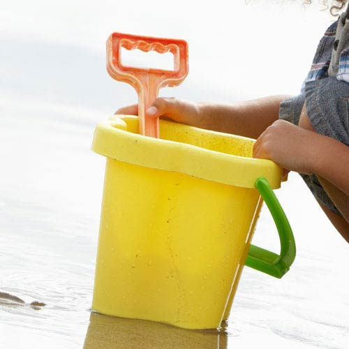Holidays answer: BUCKET AND SPADE