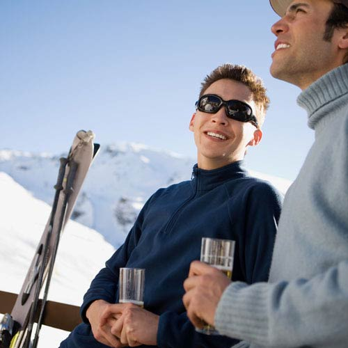 Holidays answer: APRES SKI