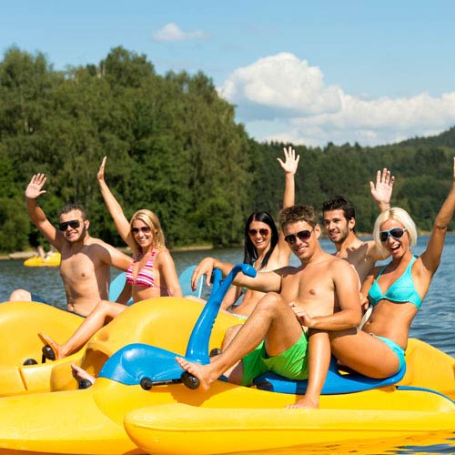 Holidays answer: PEDALOS