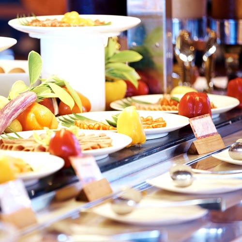 Holidays answer: HOTEL BUFFET