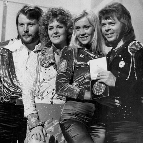 Icons answer: ABBA