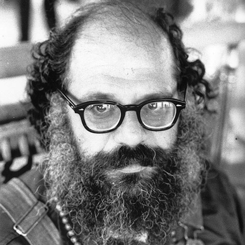 Icons answer: ALLEN GINSBERG