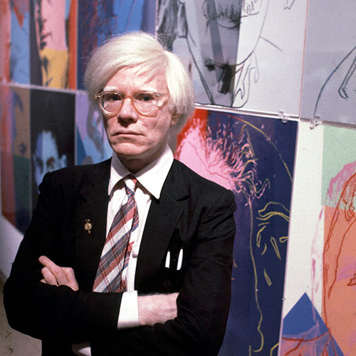 Icons answer: ANDY WARHOL