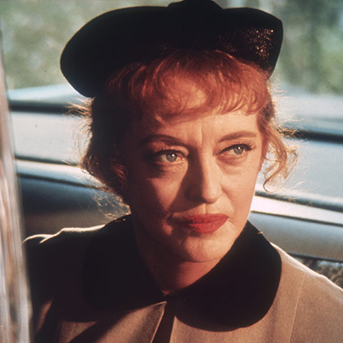 Icons answer: BETTE DAVIS