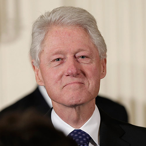 Icons answer: BILL CLINTON