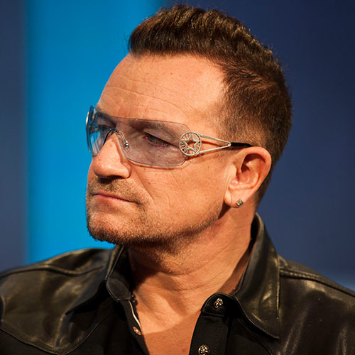 Icons answer: BONO