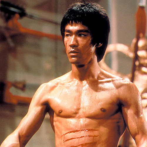 Icons answer: BRUCE LEE