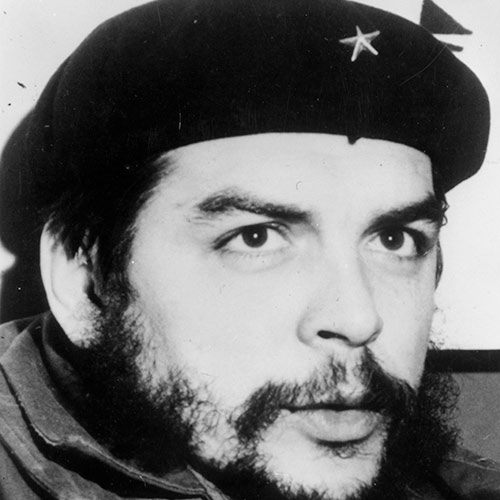 Icons answer: CHE GUEVARA