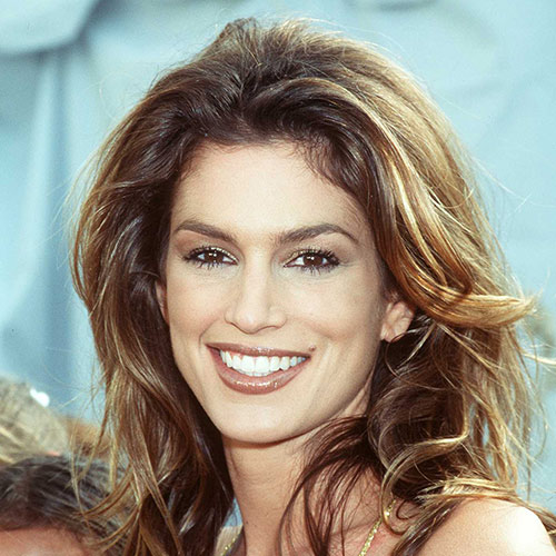Icons answer: CINDY CRAWFORD