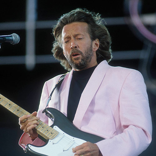 Icons answer: ERIC CLAPTON