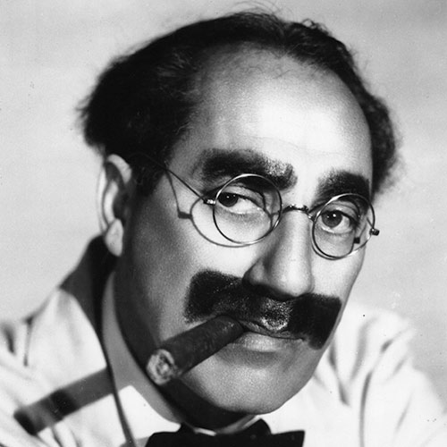 Icons answer: GROUCHO MARX