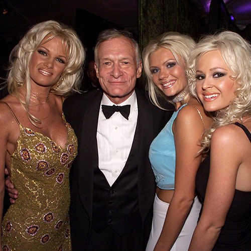 Icons answer: HUGH HEFNER