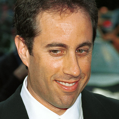 Icons answer: JERRY SEINFELD