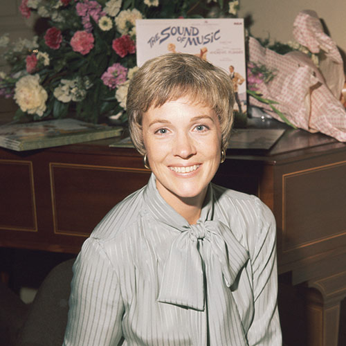 Icons answer: JULIE ANDREWS