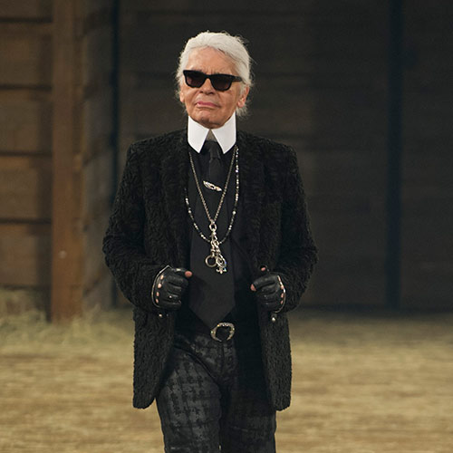 Icons answer: KARL LAGERFELD