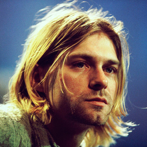 Icons answer: KURT COBAIN