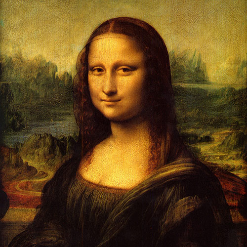 Icons answer: MONA LISA