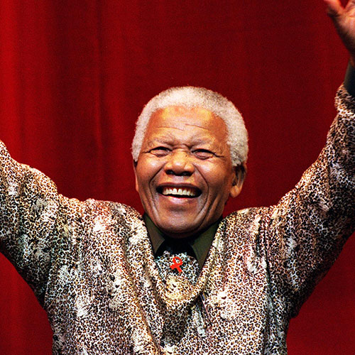 Icons answer: NELSON MANDELA