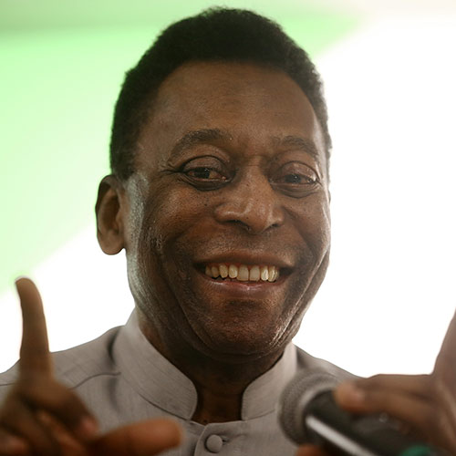 Icons answer: PELE