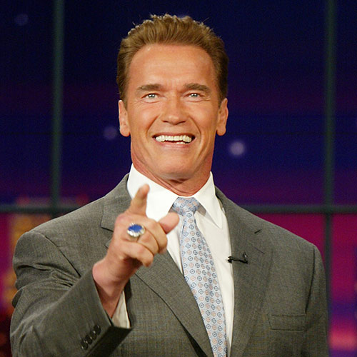 Icons answer: SCHWARZENEGGER
