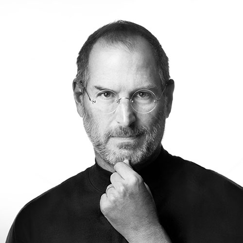 Icons answer: STEVE JOBS
