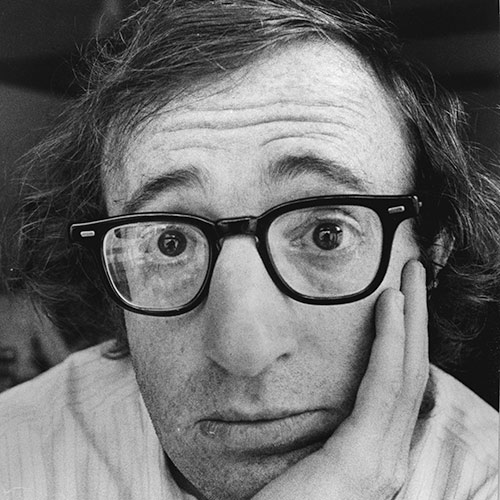 Icons answer: WOODY ALLEN