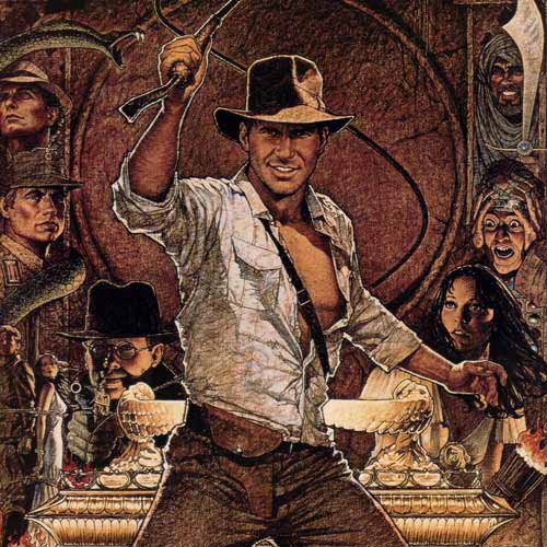 I ♥ 1980s answer: INDIANA JONES