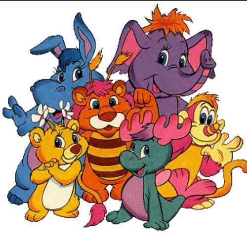 I ♥ 1980s answer: THE WUZZLES