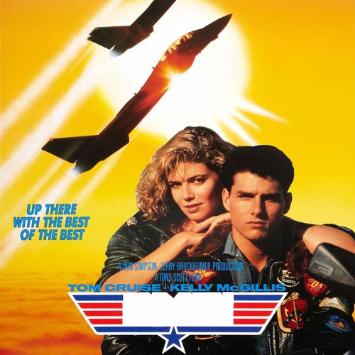 I ♥ 1980s answer: TOP GUN