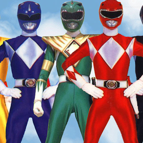 I ♥ 1990s answer: POWER RANGERS