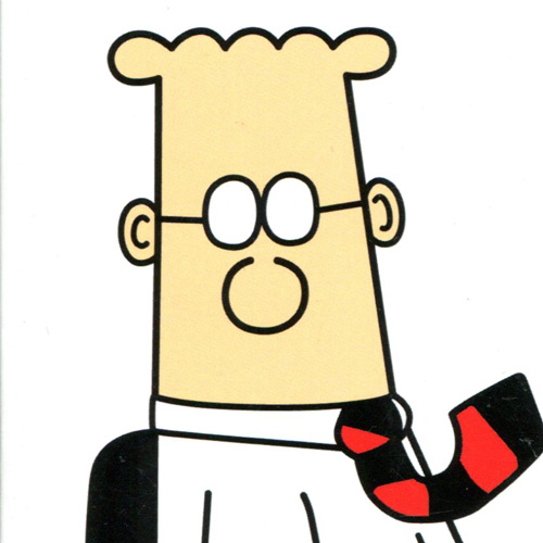 I ♥ 1990s answer: DILBERT