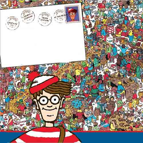 I ♥ 1990s answer: WHERES WALDO