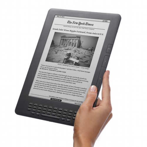 I ♥ 2000s answer: KINDLE
