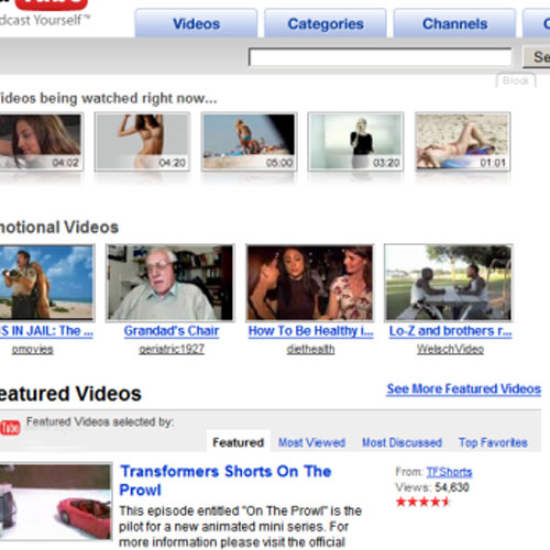 I ♥ 2000s answer: YOUTUBE