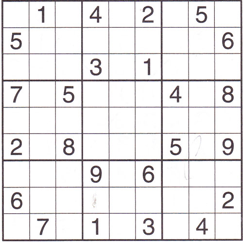 I Love 2000s answer: SUDOKU
