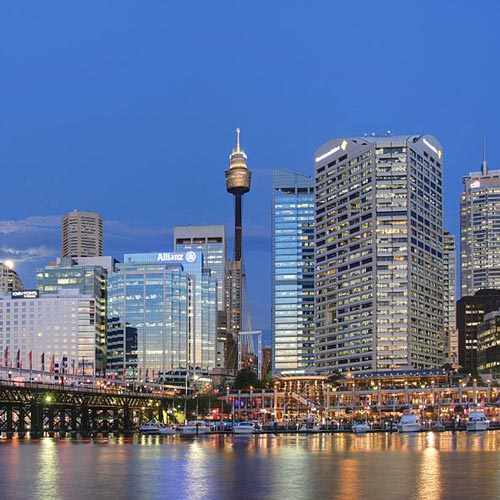 I ♥ Australia answer: DARLING HARBOUR