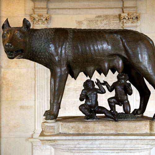 I Love Italy answer: CAPITOLINE WOLF