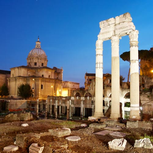 I Love Italy answer: ROMAN FORUM