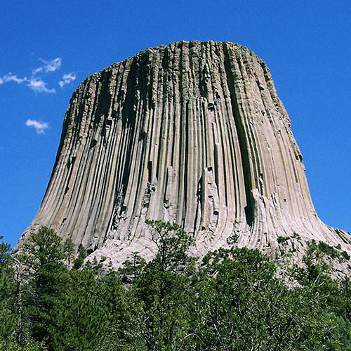 I Love USA answer: DEVILS TOWER