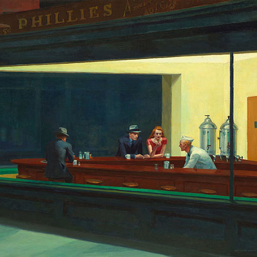I Love USA answer: NIGHTHAWKS