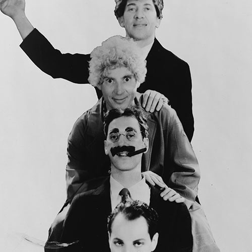 I Love USA answer: MARX BROTHERS