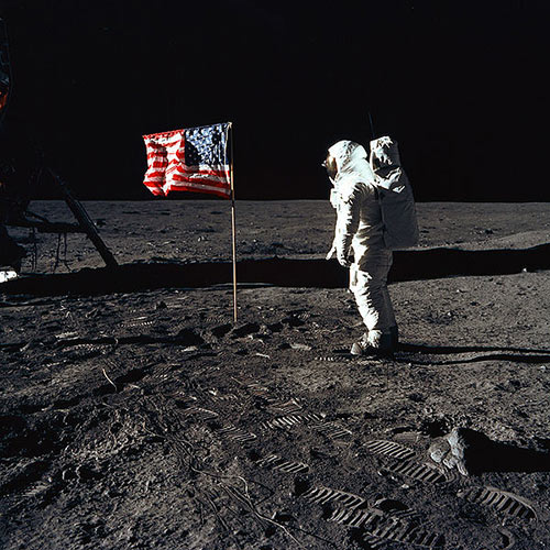 I Love USA answer: BUZZ ALDRIN